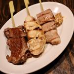 べべのおそうざい - フレンチ肉串3種盛