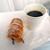リシェ  - 料理写真:クロワッサンホーン & サービスのコーヒー