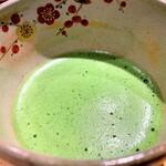 銀座 すが家 - ドリンク写真:お抹茶