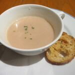 128255386 - 赤かぶのクリームスープ