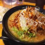 味噌の大将 - 料理写真:ネギ味噌ラーメン 濃い味噌と、シャキシャキネギがいい感じ