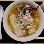 富川製麺所 - 味噌ラーメン 850円