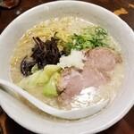 山嵐 - 白スープ 850円