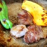 12826089 - お肉一片食べた後…^^);;;