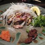 朱瑠璃 - 地鶏のたたき2012,5