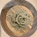 蕎麦 柳屋 新栄 - 盛り方ステキ