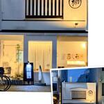 蕎麦 柳屋 新栄 - 外観写真:ビルの谷間っぽい
