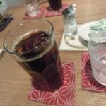 ぎゃらりぃ宮郷 - アイスコーヒー(¥400)