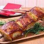 シュラスコ&ビアレストラン ALEGRIA - 【コステラ・デ・ポルコ(ポークスペアリブ)】ポークの骨周りのジューシーな部位~特製ソースに付け込んだ特別な香り~