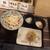 丸亀製麺 - 料理写真:ぶっかけ、おろし、温玉、肉厚しいたけ天