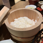 イナズマ お米研究所 - お櫃ご飯