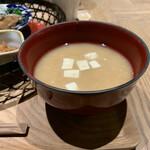 イナズマ お米研究所 - お味噌汁