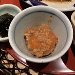 イナズマ お米研究所 - 卵黄醤油麹漬け