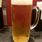 128289797 - アサヒ生ビール(通称マルエフ)ジョッキ:460円