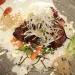 128289992 - 黒毛和牛赤身肉ステーキ丼1,800円