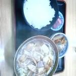 軽米食堂 - かも汁定食