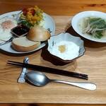 熊野野菜 カフェ - 料理写真:いつでも注文できるモーニング 税込700円