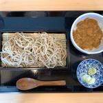 乙蕎麦 - 料理写真:粗挽きせいろミニ丼セット
