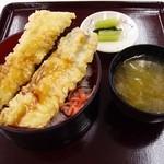 妙高SA下り線スナックコーナー - ジャンボ穴子丼