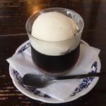 喫茶ぶーげん - コーヒーゼリー