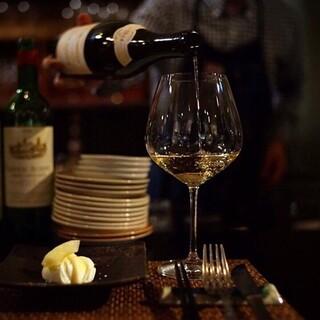ナチュラルワインとブルゴーニュ推しのラインナップ