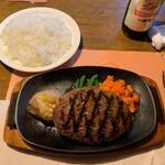 ビッグ・ジョー - ハンバーグステーキ320g①