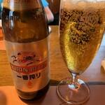 ビッグ・ジョー - キリンビール(中瓶)1本目