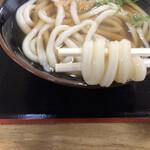 セルフうどん麺太郎 - 中細麺