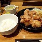 焼き鳥・炙り炭焼き をどり - 料理写真:をどり盛り定食・ご飯少なめ(2020.2)