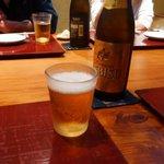 蕎麦 たかま - エビスビール