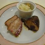 香港GARDEN - 淡路島ポークの釜焼き叉焼、淡路どりの醤油煮、穴子のエスカベッシュ
