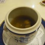 香港GARDEN - フカヒレ入り香港式薬膳スチームスープ
