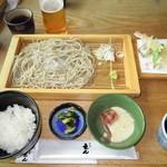 12831911 - 江戸盛り天せいろ蕎麦