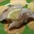もりもり寿し - 料理写真:のど黒炙り