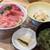 サカナファクトリー - 料理写真:マグロ三色丼