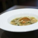 kitchen俊貴 - 2020年3月再訪:季節のスープ☆