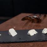 ビストロ レコルト - 2020.3 チーズ工房千 sen チーズの盛り合わせ(1,300円)