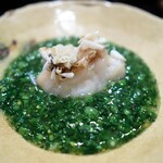 128319364 - 甘鯛うろこ焼き 菜の花餡
