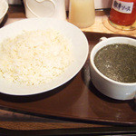 KIMET - モロヘイヤ・スープ(600円)
