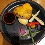 ブッシュウィック べーカリー&グリル - チーズハンバーグ