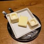 ブッシュウィック べーカリー&グリル - 3種バター
