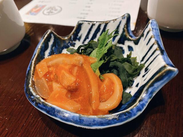 跳魚 品川店の料理の写真