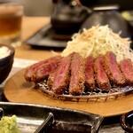 肉料理Nick - 牛レアカツ
