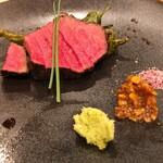 肉料理Nick - 鳥取和牛塊焼き