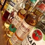 日本酒×炭火バル からんと - ウイスキーなどリキュール類も豊富です。