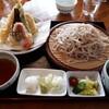 くいものや ラ・ネージュ - 料理写真:天ざるそば(1400円)