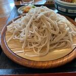 くいものや ラ・ネージュ - ざるそば・ミニヒレソースカツ丼セット(1150円) 蕎麦