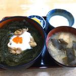 元祖 海ぶどう - 海ぶどう丼 1300円