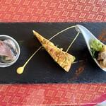 アジアン リゾート ダイニング カオ・チェー - 前菜3種