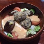 SPAGO - シイタケサラダ